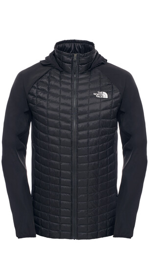 The North Face M's Thermoball Hybrid Hoodie TNF Black/TNF Black